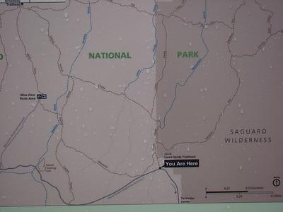 Sur les conseils du Ranger, nous démarons Loma verde Trail , qui devrait nous faire voir du paysage en 2/3 heures