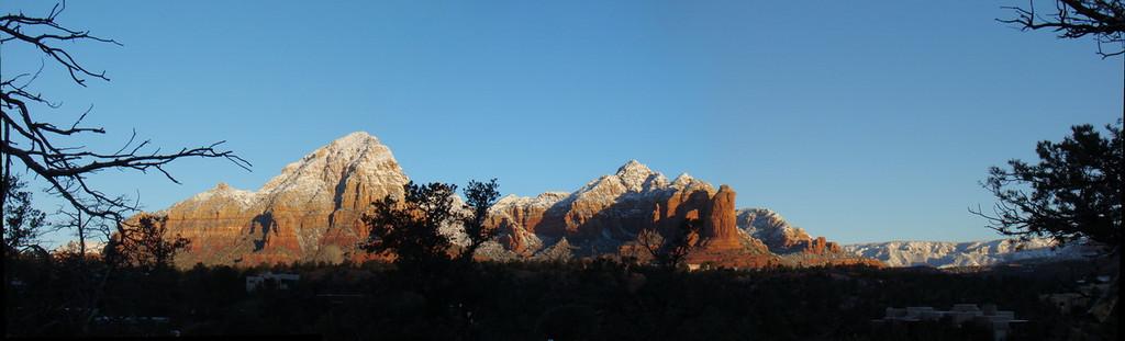 Panorama avec Coffeepot  Rock