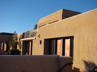 notre chambre avec la terrasse devant