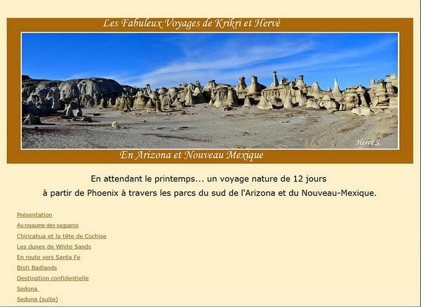merci à Krikri et Hervé, pour les renseignements qu'il nous ont donné sur SEDONA...Et merci de passer nous voir à Toulouse!  http://sites.google.com/site/fabuleuxvoyagesarizona/