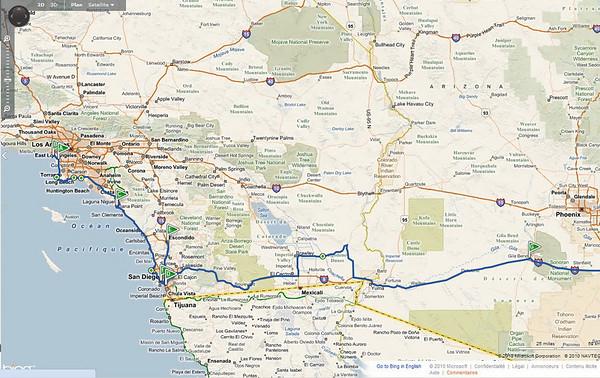 LA REALITE...............première partie par rapport au prévisionnel, il a fallu s'adapter selon la météo: A Los Angeles,nous avons zappé le MOCA, car les horaires ne sont pas propices, et sommes allés voir les baleines depuis DANA point avant San Diego A San Diego nous sommes allés au zoo le lundi, et à Escondido le mardi . Nous avons annulé Torrey Pine. D'ailleurs, un tournoi de golf devait se jouer , il a été annulé. Nous avons aussi zappé Petrified forest, pour plus profiter de Sedona. Obligés aussi d'annuler Beaumont, remplacé par plus de temps à Santa Monica