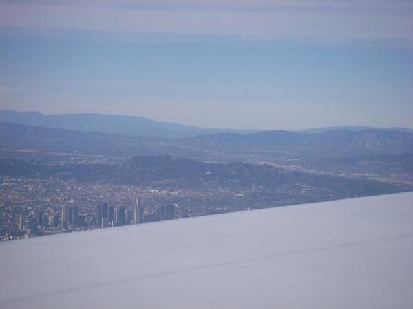 Nous repatientons pour prendre le vol pour Las Vegas, où nous arrivons complètement HS !
