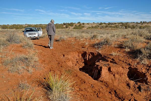 """un wash a emporté la route...Bien entendu, pas de panneau ou info avant de """"tomber"""" sur l'obstacle!"""