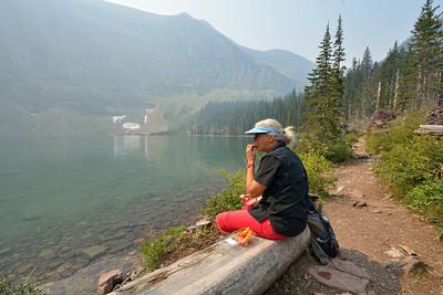 2015-08-24 Voyage + Wall Lake (Glacier Np)