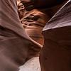 Slot canyon #3, Lower Antelope Canyon, Page, Arizona
