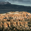 Sunset lightening up the meas, from Inspiration Point, Bryce Canyon, Utah