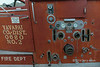 1954 Corbitt Firetruck, instrument panel, Jerome mining ghost town, Arizona