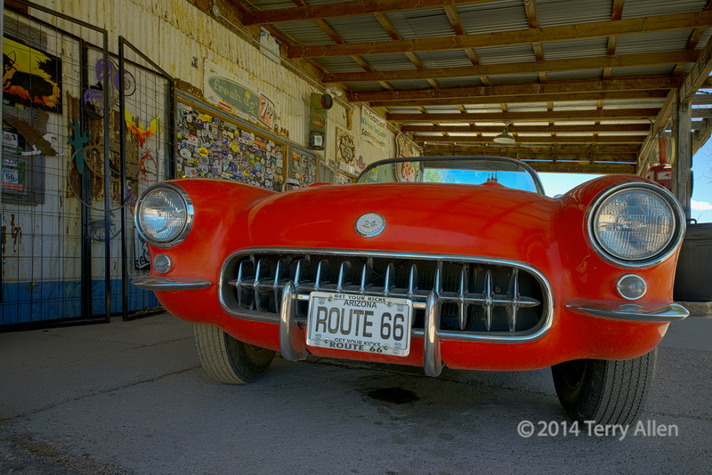 1957 Corvette, Hackberry General Store, Kingman, AZ