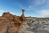 Paria-Rimrocks-with-toadstool-ET,-Grand-Staircase-Escalante-Nationa-Monument,-Utah