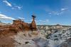 Toadstool called ET, Paria Rimrocks, Grand Staircase Escalante National Monuments, Utah