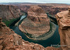 Colorado River at Horseshoe bend, near Page, Arizona