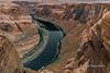 Right side of Horseshoe Bend, Colorado River, Arizona