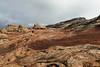 White Pocket with remnants of fresh snow, Vermillion Cliffs NM, Arizona