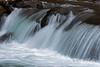 Small waterfall 3, Virgin river neaar Temple of Sinawava, Zion National Park, Utah