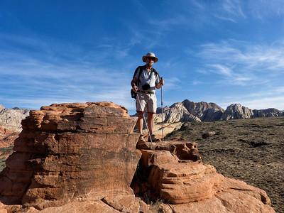 F sur le sommet de west canyon overlook