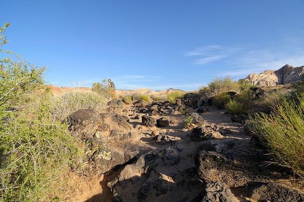 La balade prévue, c'est Lava Flow Overlook, suivi de Whiterocks
