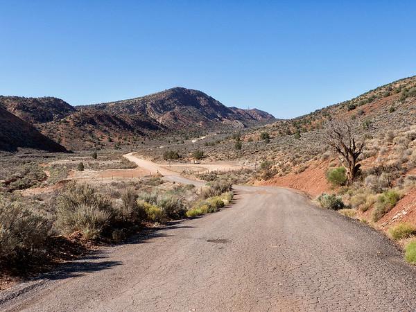 La House Valley road, pas en si mauvais état que ça