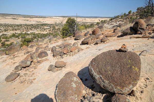 Cairn en boulders
