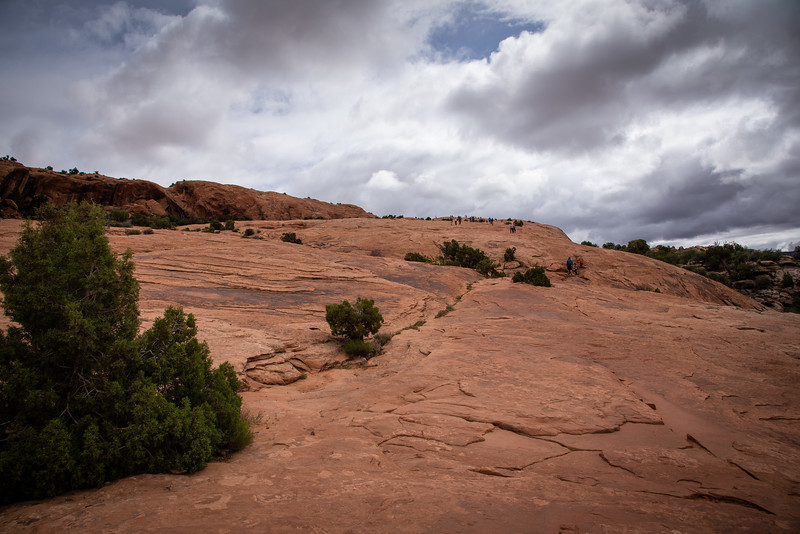 delicate arch hiking trail