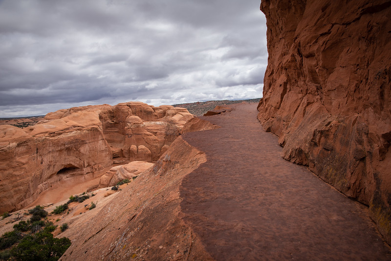 delicate arch ledge