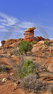 Moab Arches National Park Elephant Butte Utah Red Modern Art Prints What Is Fine Art Photography - 012343 - 10-10-2012 - 7056x12528 Pixel