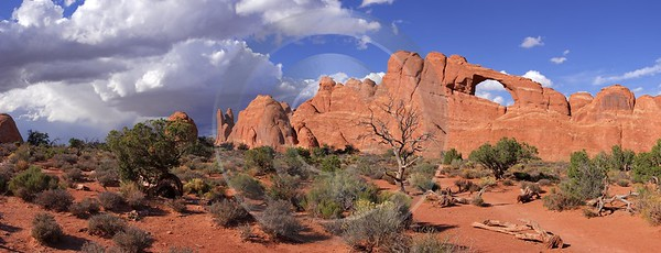 Moab Arches National Park Skyline Arch Utah Red Photography Prints For Sale Fine Art Pictures - 007912 - 04-10-2010 - 10812x4135 Pixel