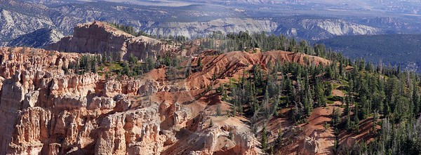 Bryce Canyon National Park Utah Yovimpa Point Rim Photography Prints For Sale View Point Ice - 005773 - 10-10-2010 - 10786x3982 Pixel