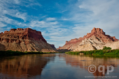 COLORADO RIVER IN THE CANYON