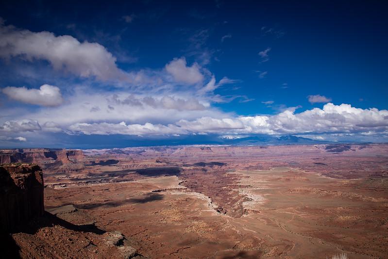 grand view overlook canyonlands