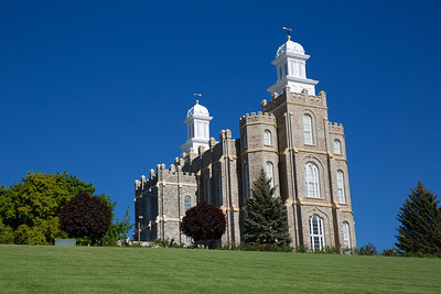 Logan LDS Temple, Utah