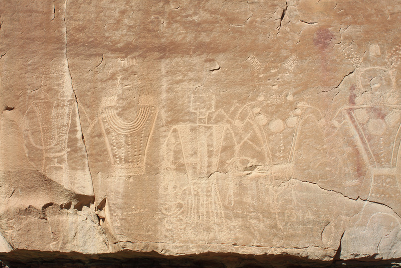 Petroglyphs at McConkie Ranch outside Vernal, UT