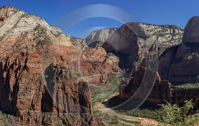 Zion National Park Angels Landing Trail Utah Autumn Ice Fine Art Pictures Landscape Order City - 015140 - 30-09-2014 - 14607x9224 Pixel