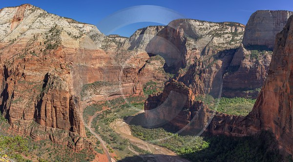 Zion National Park Angels Landing Trail Utah Autumn Stock Sea Fine Art Photography - 015126 - 30-09-2014 - 14792x8177 Pixel