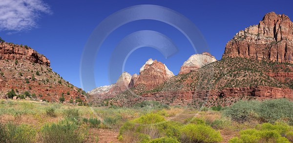 Springdale Zion National Park Utah Floor Of The Modern Art Print Fine Art Posters Fine Art Prints - 008389 - 07-10-2010 - 8884x4350 Pixel