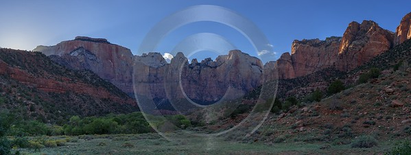 Zion National Park Utah Autumn Red Rock Blue Animal Art Photography Gallery Leave - 015163 - 29-09-2014 - 18571x7038 Pixel