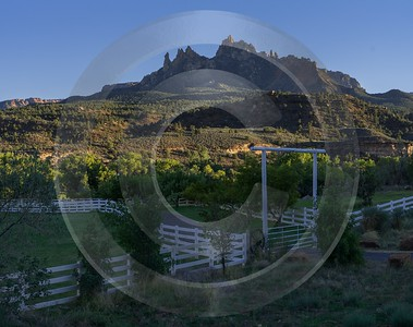 Zion National Park Utah Autumn Red Rock Blue Fine Art Print City Animal Landscape - 015095 - 30-09-2014 - 7129x5647 Pixel