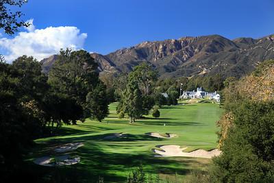 The Valley Club of Montecito, Santa Barbara, California, USA - Hole 14