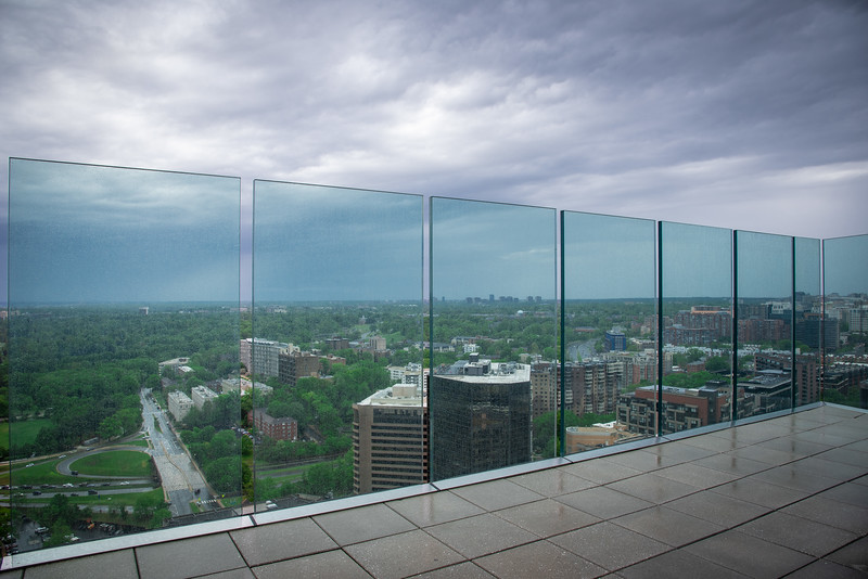 observation deck at ceb tower arlington