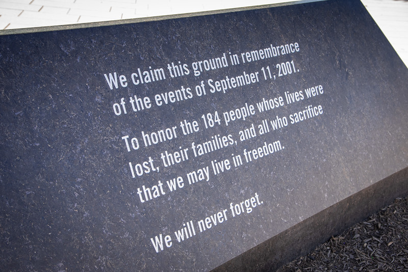 pentagon memorial arlington
