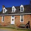 18th century house in Yorktown