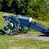 18th century canon at Yorktown