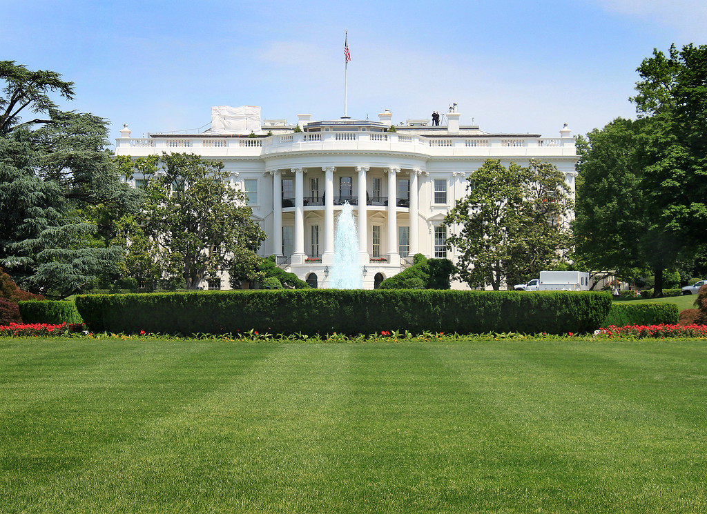 The other side of the White House