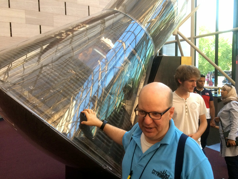 John Glenn's Mercury capsule - Smithsonian Air & Space Museum