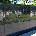 Ghosts at the Korean War Memorial – Washington D.C.