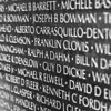 The Vietnam Veterans Memorial Wall