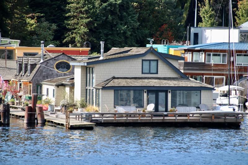Houseboat on Lake Union