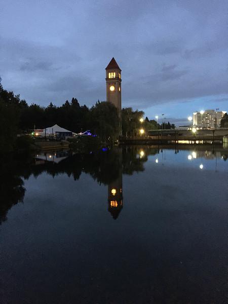 downtown spokane clock tower