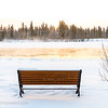 Bench, Yukon River, Whitehorse