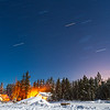 Star trails, Whitehorse