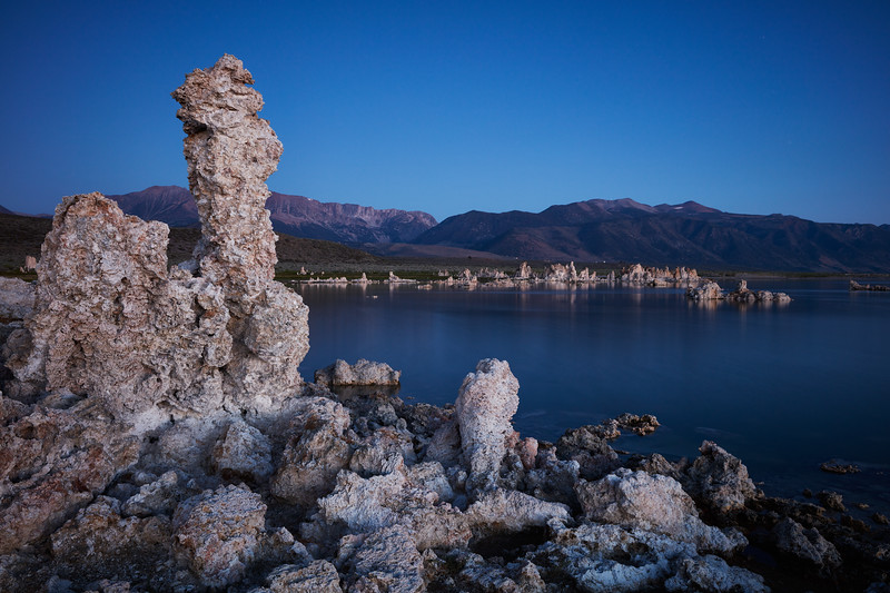 Blue Sunrise at Mono Lake